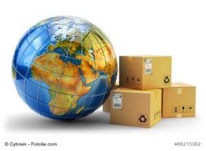Verpackung, Versand und Logistik