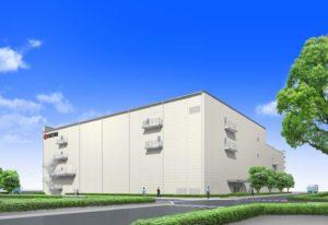 Kyocera: Architektonische Darstellung des neuen Werks